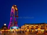Wiener Riesenrad by night