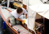 Classic Week 2014 - Flensburg - letzte Hand anlegen