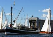 Classic Week 2014 - Flensburg - Startschiff Gesine