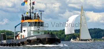 Classic Week 2014 - Flensburg - Thea mit Schlepper