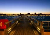 Kellenhusen - Seebrücke am Abend 2