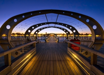 Kellenhusen - Seebrücke am Abend 1