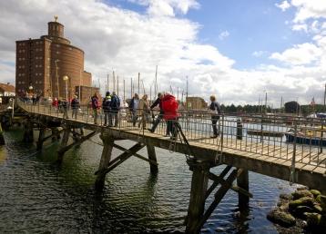 Speicher und Hafenbrücke