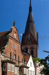 Norderstrasse mit Marienkirche 1