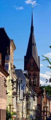 Norderstrasse mit Marienkirche 3