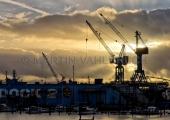 Lindenau Werft Kräne 5