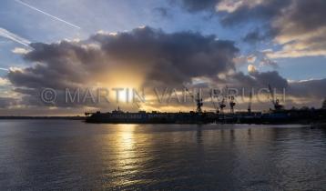 Lindenau Werft mit Dock 2 - 1