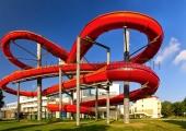 Rote Rutsche Panorama
