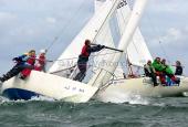 Kieler Woche 2013  J 24  -  Wiebke Siemsen & Crew, BSC