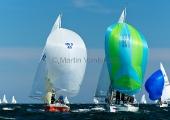 Kieler Woche 2012 J24 - Erik Jeuring & Crew  Randmeren - Maureen Dresler & Crew BSC