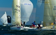 Kieler Woche 2012 J24 - Jonas Hummelt & Crew SVAOe - Frithjof Schade & Crew JSC