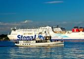 "Kiel - ""Stena Germanica"" mit ""Kieler Sprotte"""
