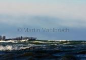 Kiel - winterliches Bülk im Sturm