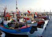 Kiel - Fischerboot in Strande 2