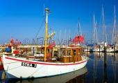 Kiel - Fischerboot in Strande