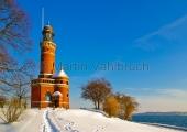 Kiel - Leuchtturm Holtenau im Winter