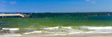 Kiel - Schilksee - Strand und Anleger