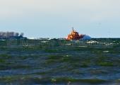Kiel - Lotsenboot vor Bülk