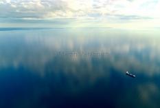 Kiel aus der Luft  - Kieler Bucht mit Aerö und Langeland