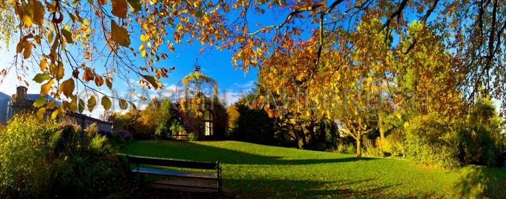 Pavillon im  alten botanischen Garten  1