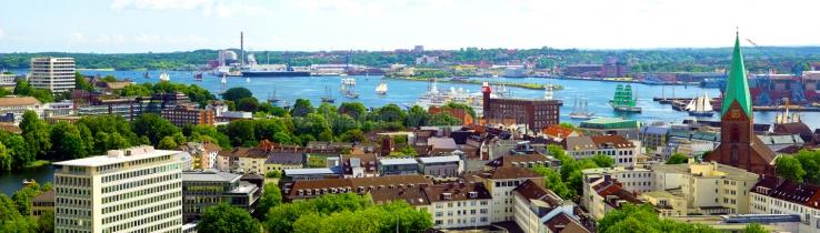 Panorama Kiel Altstadt