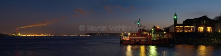 Panorama Kiel - Fördeufer Holtenau 2