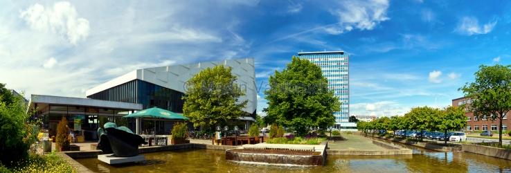 Panorama Kiel - Campus der Christian - Albrechts - Universität
