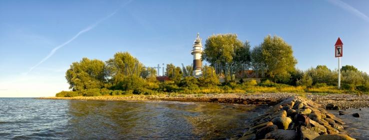 Panorama Kiel - Leuchtturm Bülk