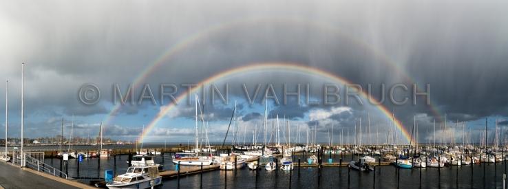 Panorama Schilksee Regenbogen