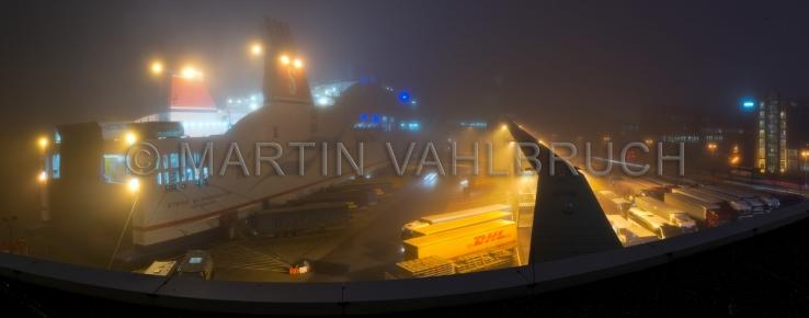 Panorama Stena im Nebel