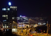 Kiel - Stena Terminal bei Nacht 2