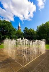 Kiel - Springbrunnen im Hiroshimapark