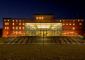 Kiel - Landtag bei Nacht