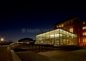 Kiel - Landtag bei Nacht 2