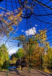 Kiel - Pavillon im alten botanischen Garten