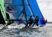 Kieler Woche 2018 -  49er FX - 024 - GBR 230 - Megan Brickwood - Eleanor Aldridge - 1. Segel- und Surfclub