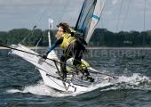 Kieler Woche 2018 -  49er FX - 027 - NED 65 - Odile van Aanholt - Marieke Jongens - Koninklijke Watersport-Vereeniging 'Loosdrecht'