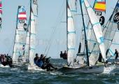 Kieler Woche 2018 -  49er FX - 038 - GER 9 - Tina Lutz - Susann Beucke - Chiemsee-Yachtclub e.V
