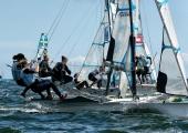 Kieler Woche 2018 -  49er FX - 048 - ARG 19 - Victoria Travascio - María Sol Branz - Yacht Club Ascona