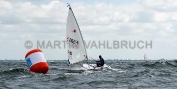 Kieler Woche 2018 - Laser M -  FIN 212824  - 2