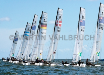 Kieler Woche 2018 - Nacra 17 mixed - 01