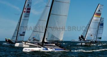 Kieler Woche 2018 - Nacra 17 mixed - 04