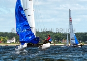 Kieler Woche 2018 - Nacra 17 mixed - John Gimson - Anna Burnet 4