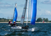 Kieler Woche 2018 - Nacra 17 mixed - Thomas Zajac - Barbara Matz 5