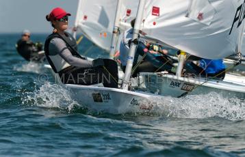 Kieler Woche 2019 - Laser W - POL 211313 Magdalena Kwasna 1