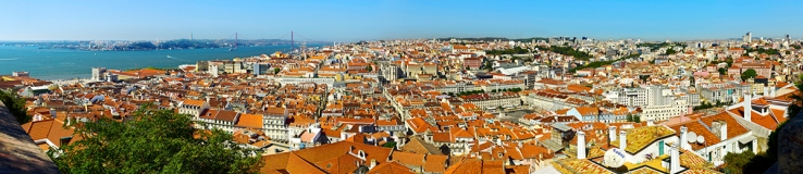 Lissabon - Panorama