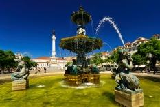 Lissabon - Praca Dom Pedro 2