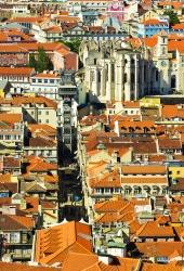 Lissabon - Elevador Santa Justa 1
