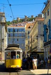 Lissabon - Carreira an der Praca da Figuera