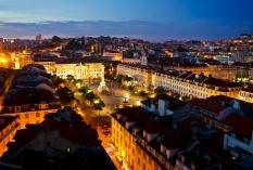 Lissabon - Praca Dom Pedro 3